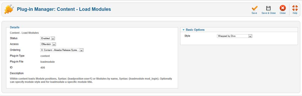 load-module from Joomla 2.5