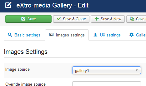 Image Settings - emgallery